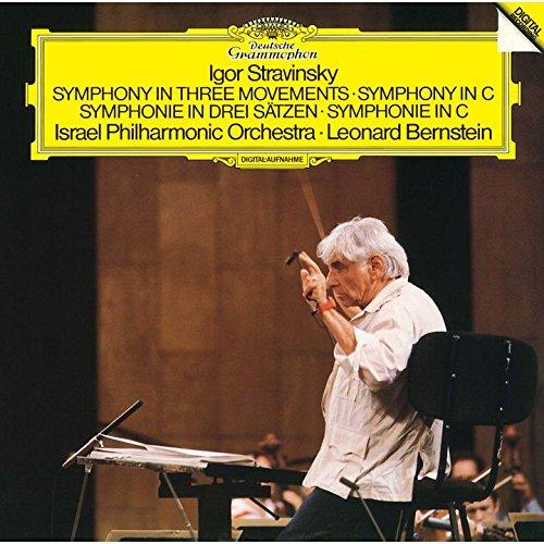 レナード・バーンスタイン、イスラエル・フィルハーモニー管弦楽団 / ストラヴィンスキー:交響曲ハ調、3楽章の交響曲