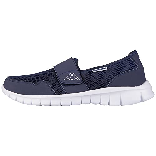 Kappa Faro Light Footwear Unisex, Mesh/Synthetic, Unisex Adults' Loafers,  Blue