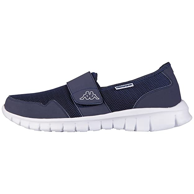Kappa Faro Light, Mocassins Mixte Adulte, Bleu (Navy/White), 42 EU