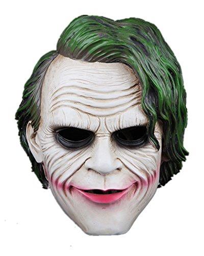 Purge Costume Ideas For Girls (Batman The Dark Knight The Joker Mask Halloween Cosplay Resin Replica)