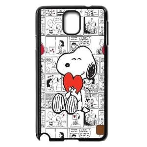 JenneySt Phone CaseCartoon Snoppy Design For Samsung Galaxy NOTE4 Case Cover -CASE-19