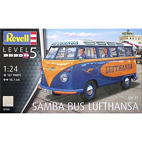 (Revell 07436 VW  Samba Bus Lufthansa Model Kit)