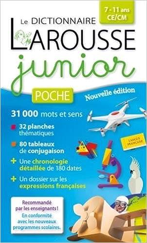 Livre gratuits Larousse Junior poche pdf, epub