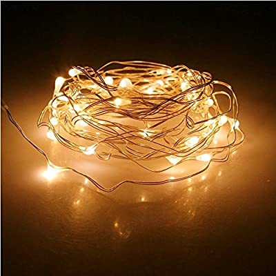 Solar String Lights, 4 Pack 100 LED Solar Fairy Lights 33 ft 8 Modes Copper Wire Lights Waterproof Outdoor String Lights for Garden Patio Gate Yard Party Wedding Indoor
