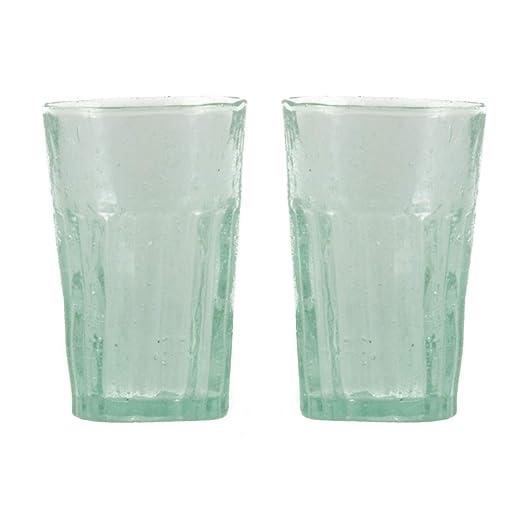 Studio tr | soplado para beber (2 unidades, cristal reciclado Aire ...