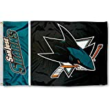 Cheap NHL San Jose Sharks Flag with Grommets (3 x 5-Feet)