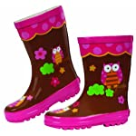 Stephen Joseph Little   Little   Rain Boot, Owl, 8