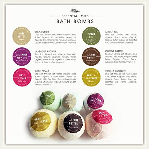 Essential Oils Bath Bombs by Naska | Organic Natural ...