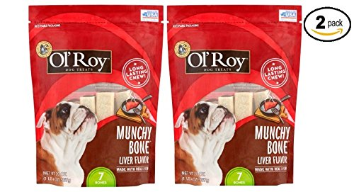 Liver Flavor Chews Dog Treats, (14 Ct) - Pack of 2 ()