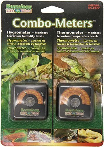 Amazon.com : Reptology Reptile Hygrometer Humidity and Temperature Sensor Gauges by Reptology : Pet Supplies