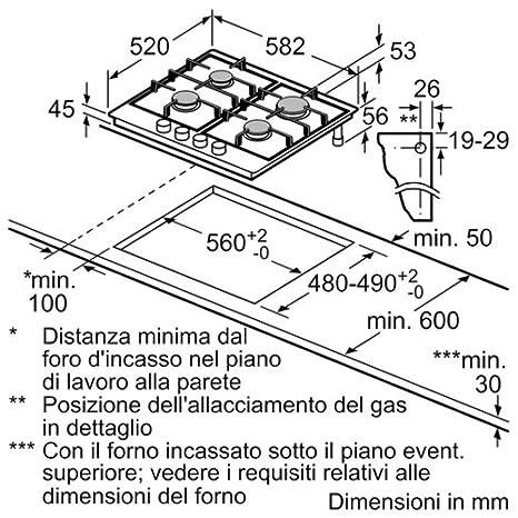 Siemens EC6A5PB90 Encimera 4h stepflame