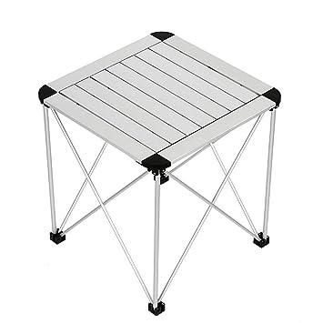 AYHa Mesa plegable portátil para acampar, mesa plegable de ...