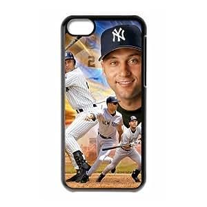 LJF phone case Diy Derek Jeter iphone 6 4.7 inch Hard Shell Case Fashion Style UN012600