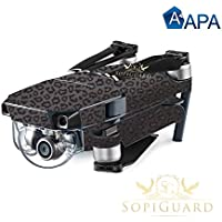 SopiGuard APA Cheetah 3D Precision Edge-to-Edge Coverage Vinyl Skin Controller Battery Wrap for DJI Mavic Pro