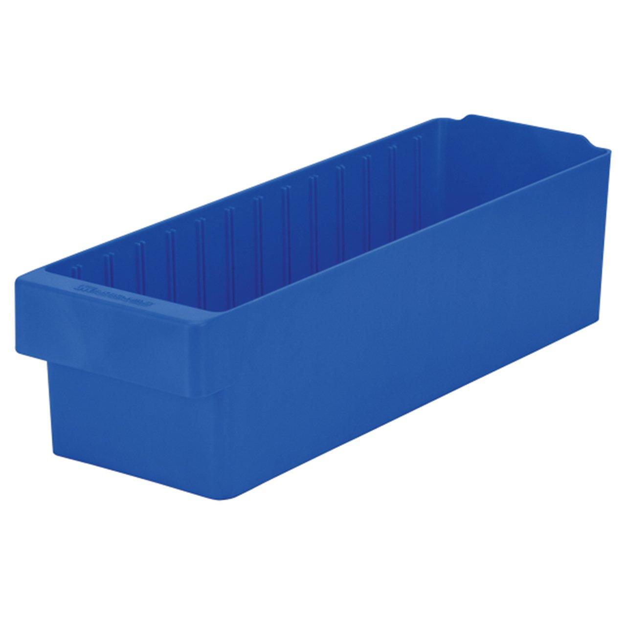 "akro-mils 31168 AkroDrawerプラスチックストレージ引き出し、17 – 5 / 8 "" L x 5 – 9 / 16 "" W x 4 – 5 / 8 "" H B0042RTMHY ブルー ブルー"