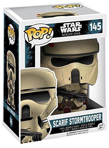 Star-Wars-Rogue-One-Vinilo-Scarif-Stormtrooper-Bobble-Head-144-Figura-de-coleccin