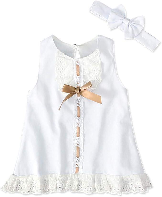 Abiti Da Cerimonia 12 Mesi.Vestiti Bambina Neonata 0 12 Mesi Fascia Per Capelli Vestito