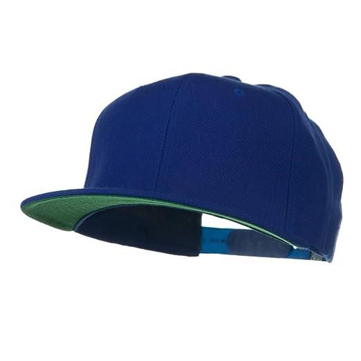 Wool Blend Prostyle Snapback Cap - Royal at Amazon Men s Clothing store   Baseball Caps f7571a6df09a