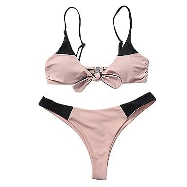 Luckycat Bikinis Mujer, 2018 Push up Sujetador Acolchado Traje de baño Bikini para Mujeres niñas: Amazon.es: Ropa y accesorios