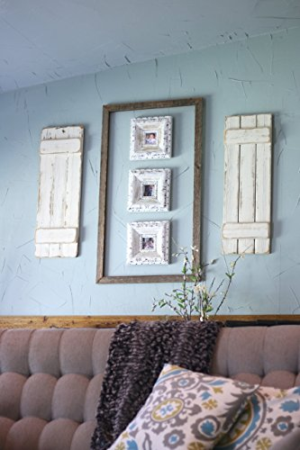 Doug and Cristy Designs White Distressed Farmhouse Shutters by Doug and Cristy Designs (Image #3)