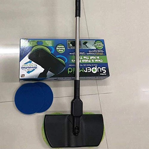 Super Maid 2018 Cordless Electric Spinning Mop
