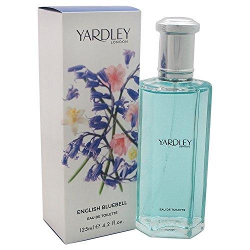 Spray De Eau Toilette London (Yardley Of London English Bluebell Eau de Toilette Spray for Women, 4.2 Ounce)