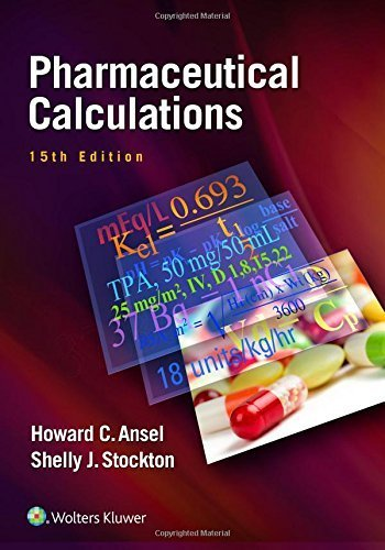 Pharmaceutical Calculations by Howard C. Ansel PhD - Stockton Shopping Mall