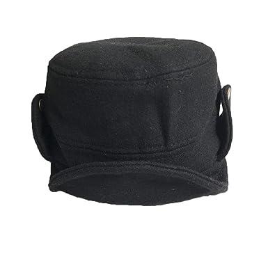 Iuhan Hats Autumn Winter Baseball Caps Beanie Hat Hats Caps About 48-52cm  Black b29cab0456d