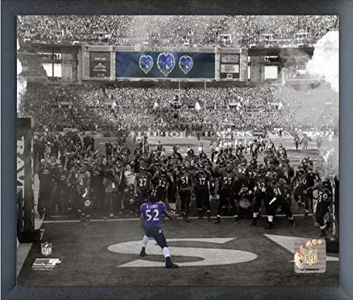 Ray Lewis Baltimore Ravens Spotlight Action Photo (Size: 12