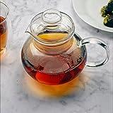 Primula Blossom 40 oz Glass Teapot Gift Set - Includes Infuser, 12 Flowering Teas