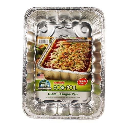 Handi-Foil Giant Lasagna Pan - 13 Inch, 3 Pack