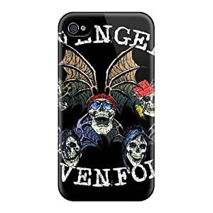 KevinCormack Iphone 4/4s Protective Cell-phone Hard Covers Support Personal Customs High-definition Avenged Sevenfold Skin [ooB12233NEnU]