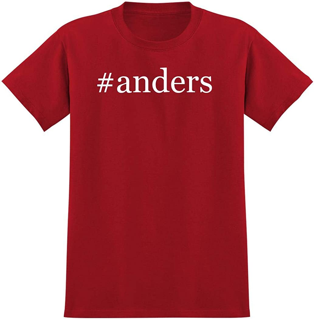 #Anders - Hashtag Men'S Graphic T-Shirt, Red, Xxx-Large