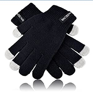 ReGear BEST Texting Gloves 2 Pack Keep Warm while using your Touchscreen Smartphone & Tablet by