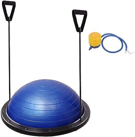 COMOTS - Balón de Entrenamiento de Yoga (59,5 cm) con Bomba de ...