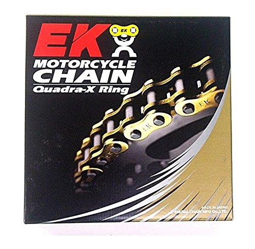 EK Chain 530 ZVX3 NX-Ring Chain - 130 Links - Chrome , Chain Type: 530, Chain Length: 130, Chain Application: Street, Color: Chrome EK 530ZVX3 X 130 CHR