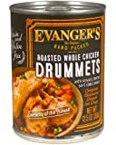 Evangers Super Premium For Dogs Roasted Chicken Drummet Dinner, 12 Pack Review