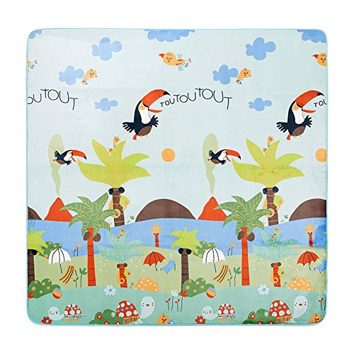 MeMoreCool Cartoon Happy Flying Birds and Turtles Baby Anti-