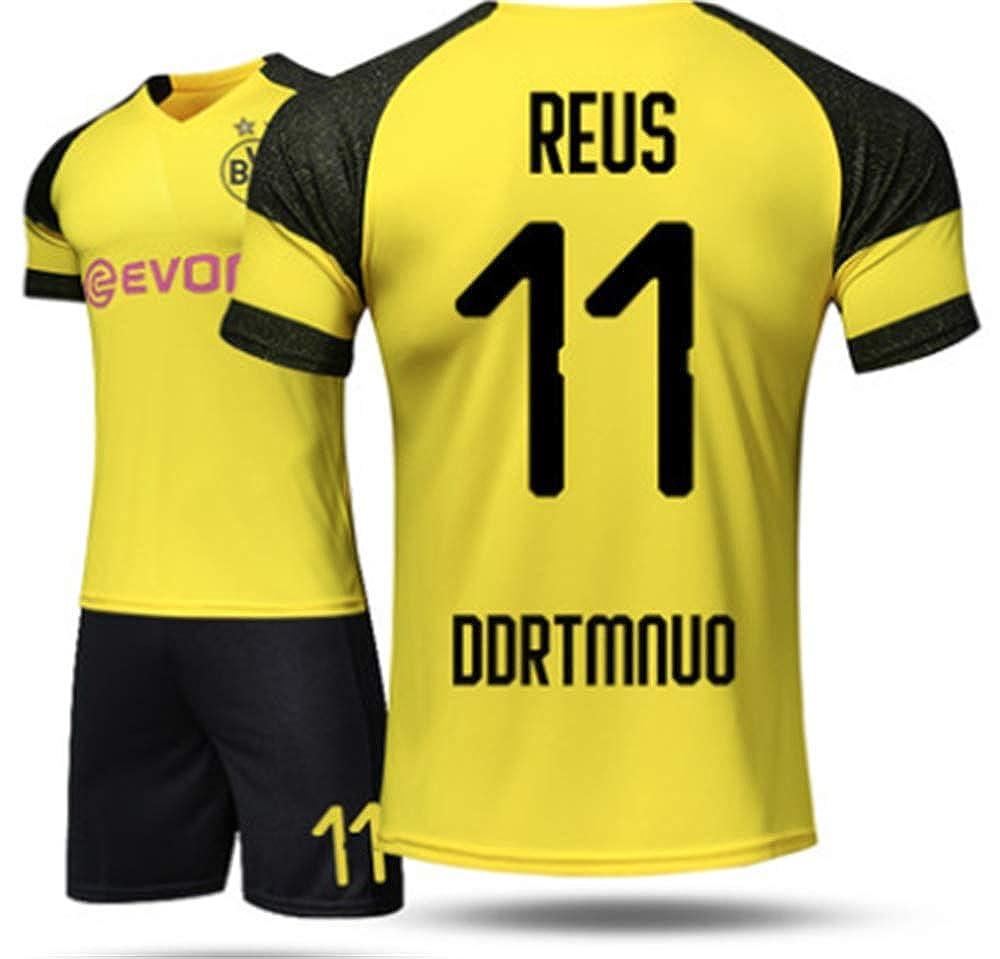 pretty nice 5897a f4f58 Amazon.com: LISIMKE Soccer Team Home 2018/19 Dortmund Reus ...
