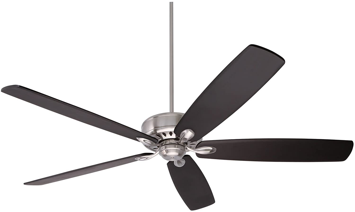 Emerson ceiling fans cf921bs avant eco energy star ceiling fan with emerson ceiling fans cf921bs avant eco energy star ceiling fan with remote blades sold separately brushed steel finish amazon aloadofball Image collections