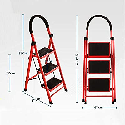 Yuanyuanliu Escalera Telescópica Escalera Mecánica Multifunción Escalera Móvil Plegable Escalera De Mano Mano Gruesa Escalera Interior Gruesa Escalera Móvil: Amazon.es: Hogar