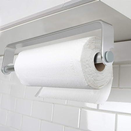 Supports Pour Papier Essuie Tout En Aluminium Auto Adhesif Porte