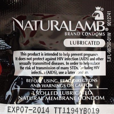 TROJAN NATURAL LAMB 12 PACK by Trojan