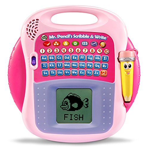 LeapFrog Mr. Pencil's Scribble and Write Amazon Exclusive, Pink