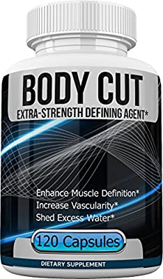 Body Cut - Extra Strength Defining Agent - Shed Excess Water, Enhance Muscle Definition, and Increase Vascularity