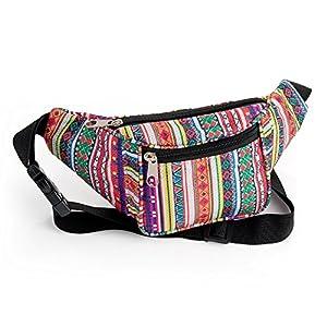 Riñonera tribal, cinturón de dinero, festival, festival, festival, festival, bolsa de billetera. | DeHippies.com