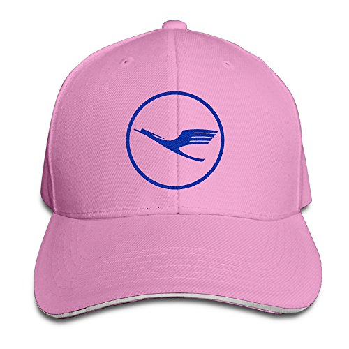 adult-german-lufthansa-airline-bright-logo-adjustable-sandwich-hat-8-colors
