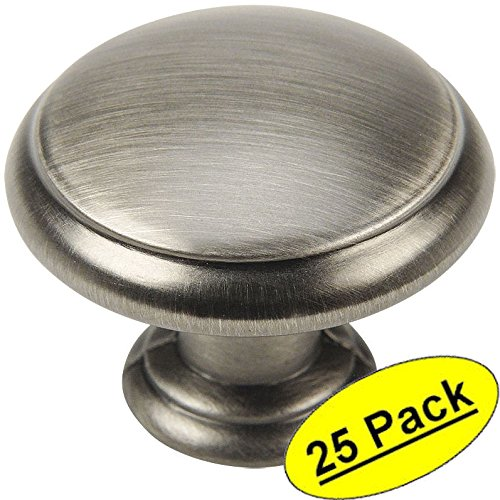 brush nickle cabinet knobs - 3