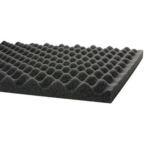 (Gun Case Foam 12 x 36 x 1.5 Egg Crate -1 piece. acoustic foam/studio sound prof)