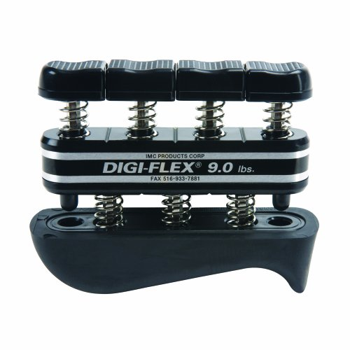 Digi-Flex Black Hand and Finger Exercise System, 9 lbs (Hand Finger Exercise System)